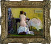 At the Dresser (Nude Study), No. 806